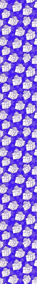 Pattern Wallpaper Winter Gift Boxes