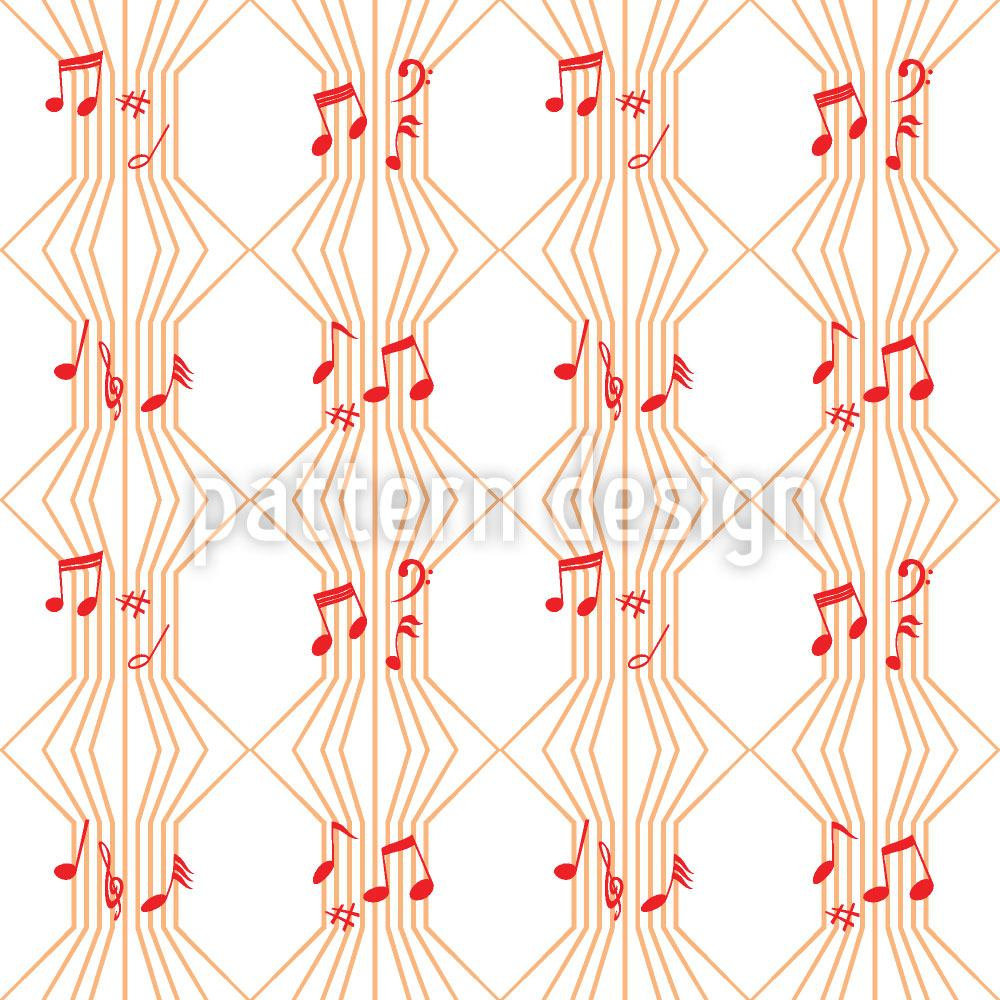 Pattern Wallpaper Ars Musica
