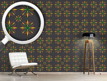 Pattern Wallpaper Manga Starflower