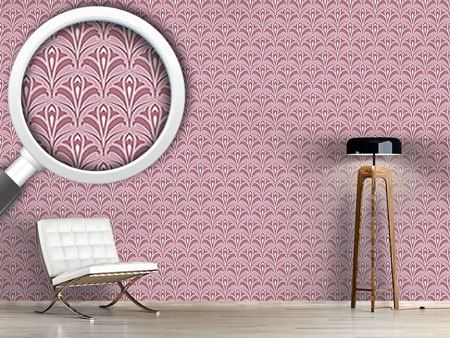 Designmuster Tapete Aquaflor Rose