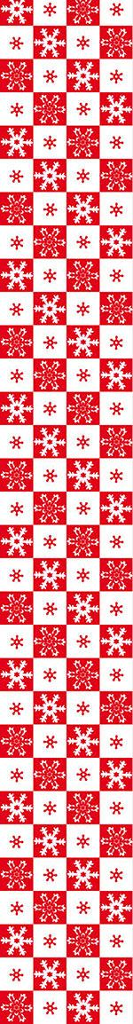 Carta da parati Little Snow Flakes