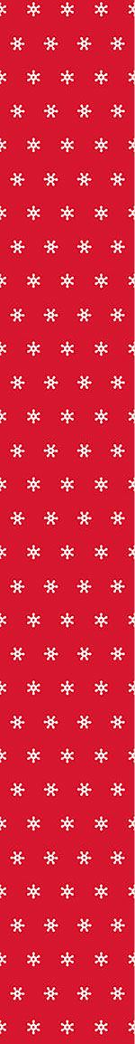 Pattern Wallpaper Snow Flakes White