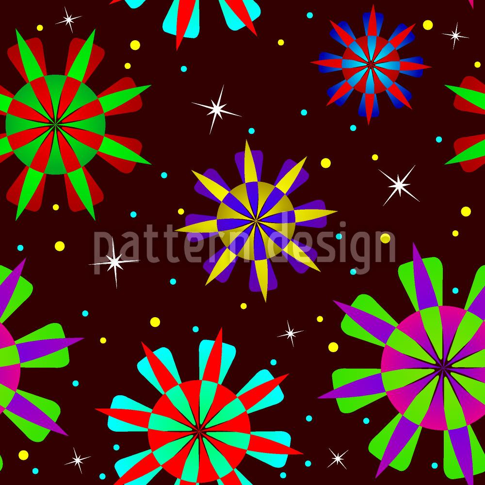 Papier peint design Stardust Party
