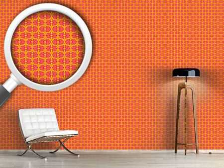 Pattern Wallpaper Bamboo Pop