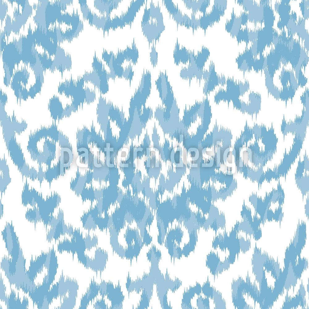 Pattern Wallpaper Ikat Damask