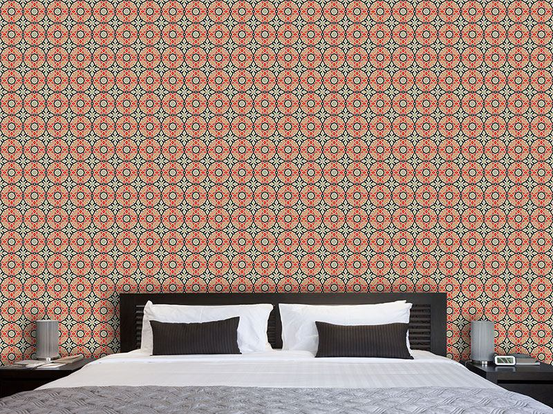 Pattern Wallpaper Apricosa