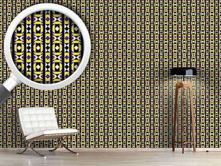 Pattern Wallpaper Geometry Latin