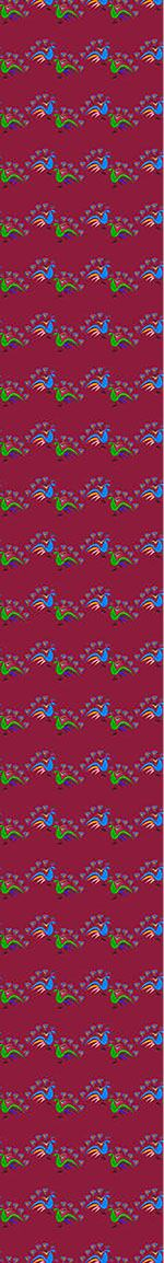 Pattern Wallpaper Peacocks Dance