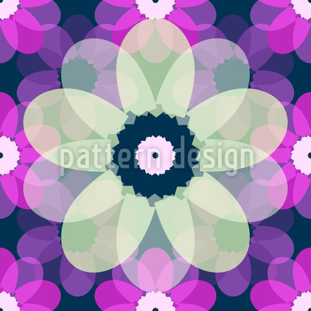 Pattern Wallpaper Paper Anemones