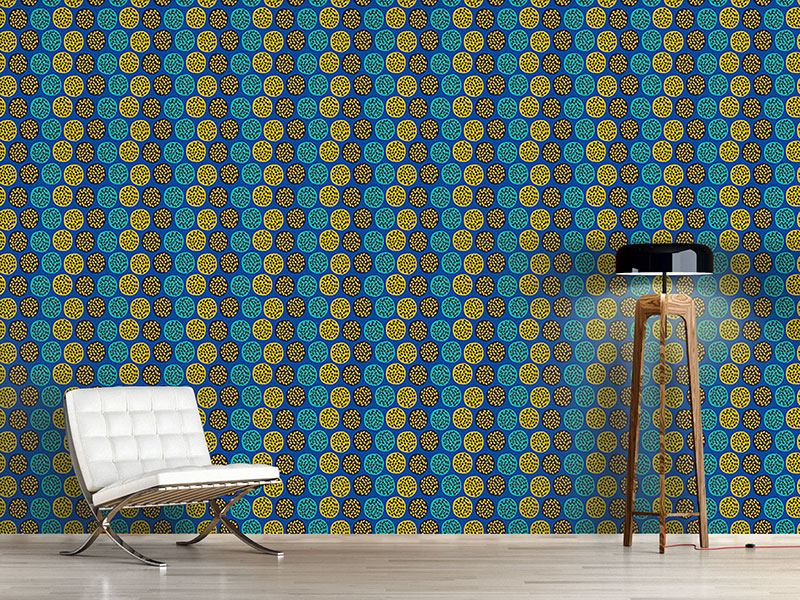 Pattern Wallpaper Pomgranades