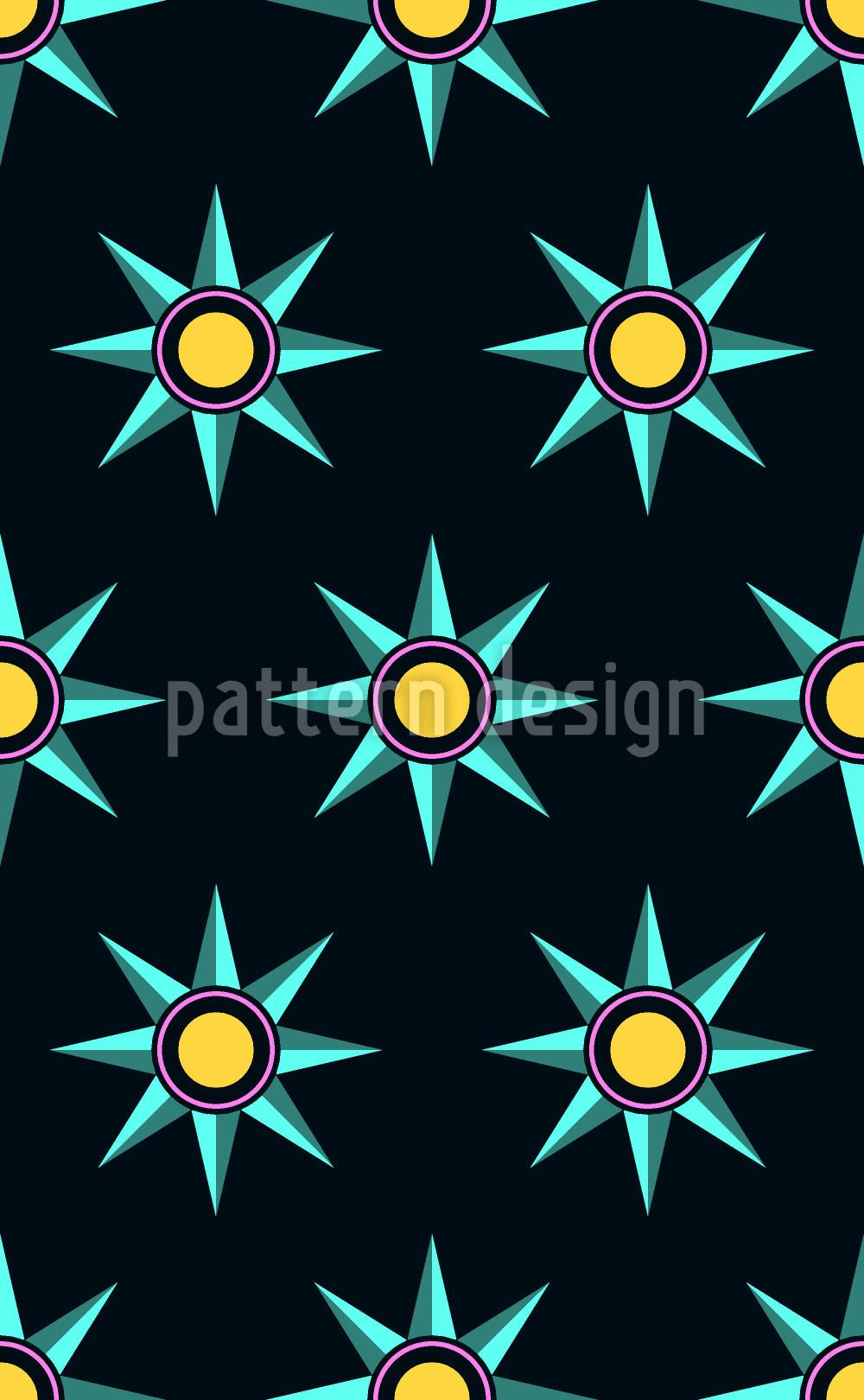 Pattern Wallpaper Star Parade