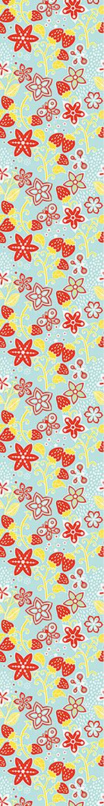 Pattern Wallpaper In Lillys Strawberry Paradise