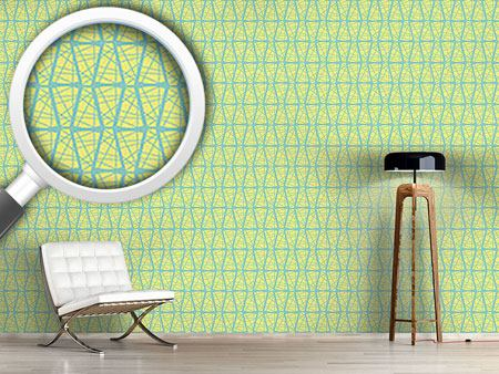 Pattern Wallpaper Criss Cross