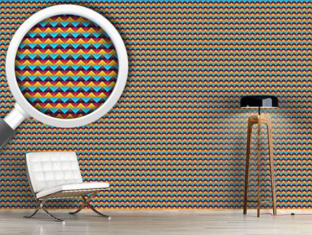 Pattern Wallpaper Chevron At Day And Night