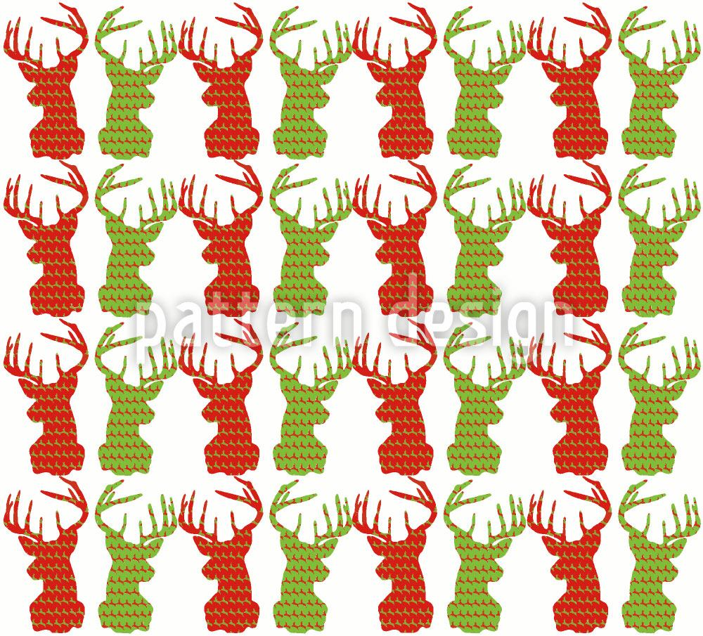 Papier peint design Deer Talk