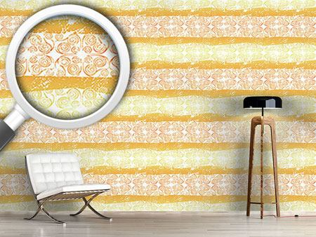 Pattern Wallpaper Antiqua Gold