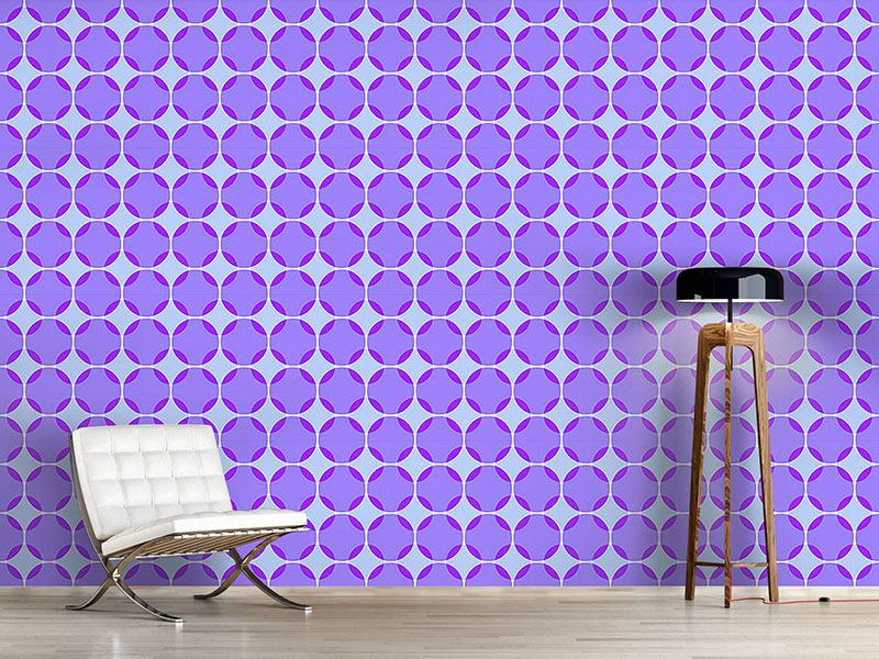 Pattern Wallpaper Stack Circles
