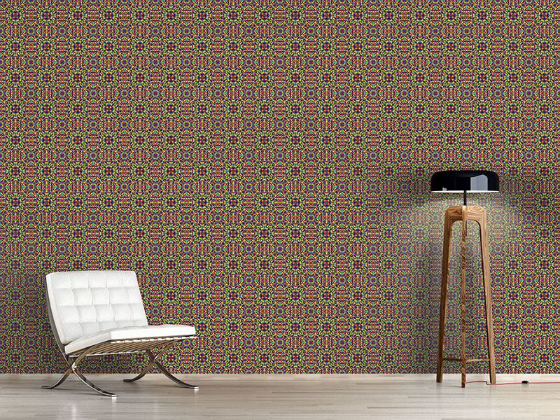 Pattern Wallpaper Summer Mosaic