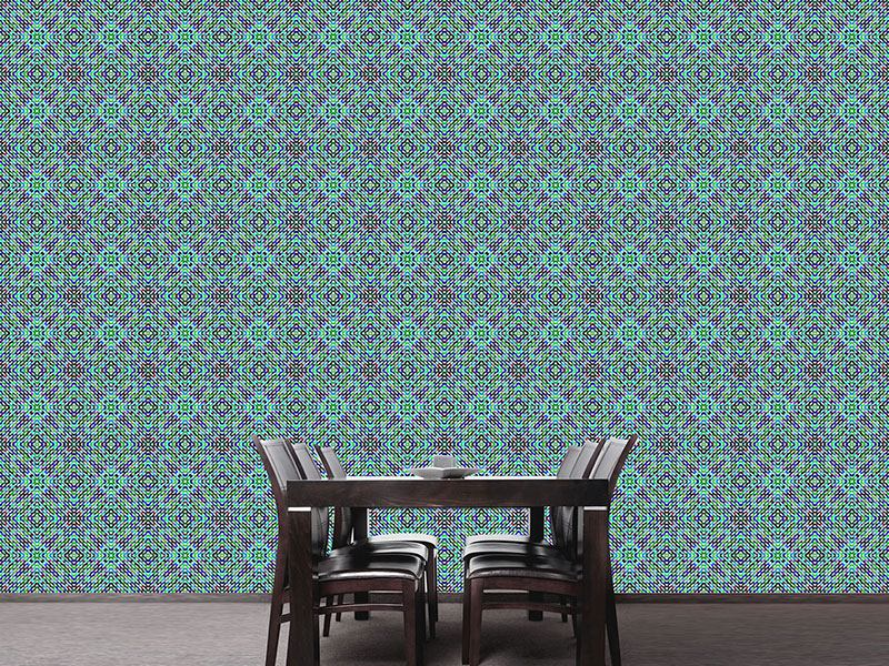 Papier peint design Mosaic Dimension