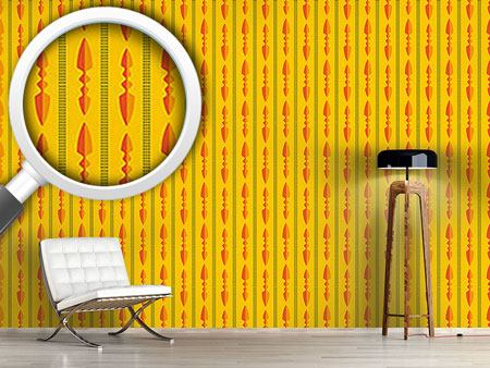 Pattern Wallpaper Spearheads
