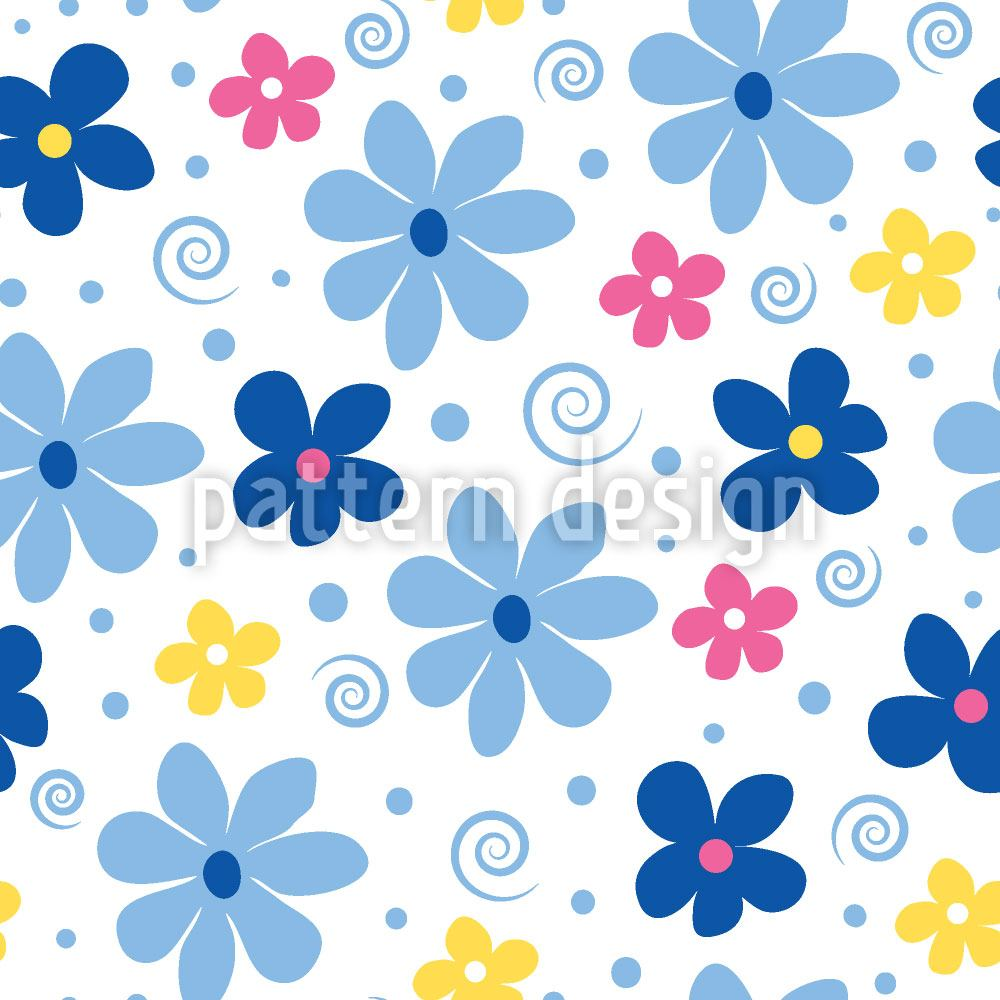 Papier peint design Flower Joy