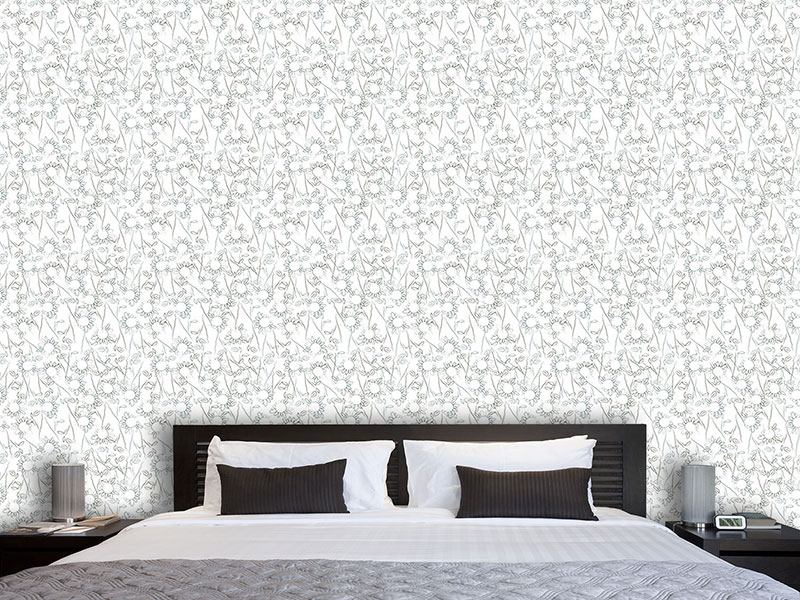 Pattern Wallpaper Romantic Florets