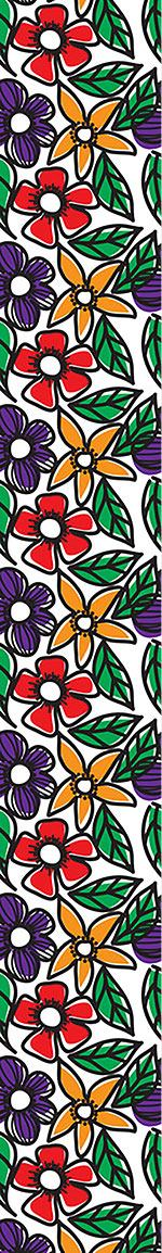 Carta da parati Flower Doodles