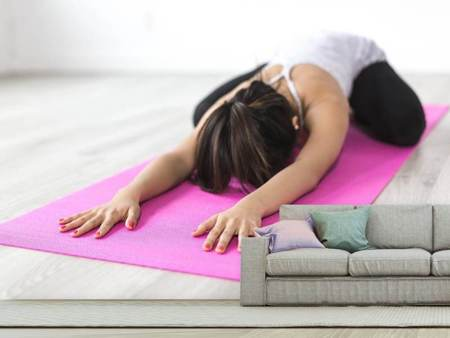 Photo Wallpaper Yoga exercise