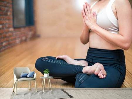 Photo Wallpaper Relaxed yoga