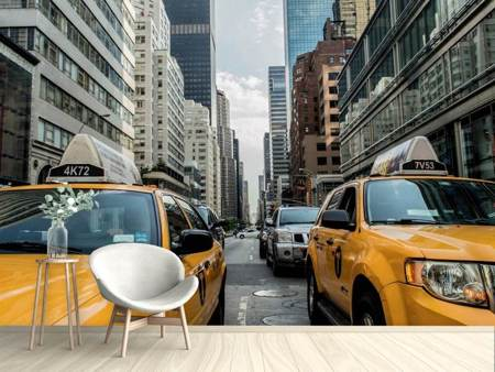Photo Wallpaper Taxis in New York