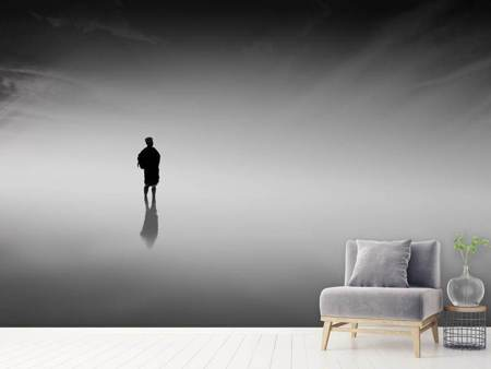 Photo Wallpaper Reflection in the fog