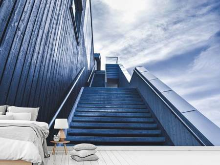 Photo Wallpaper Steep stairs
