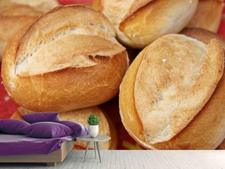 Photo Wallpaper Fresh bread rolls