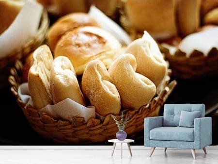 Photo Wallpaper bread Baskets