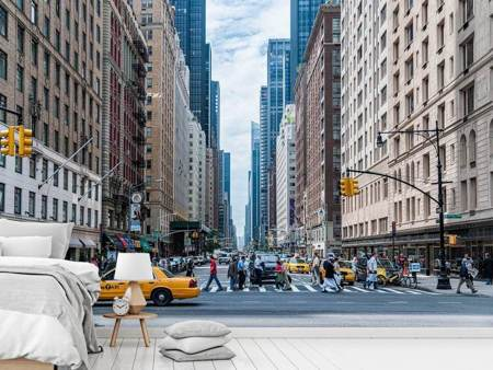 Papier peint photo Au milieu de Manhattan