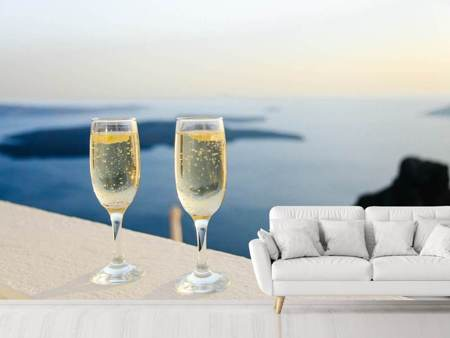 Photo Wallpaper We love champagne
