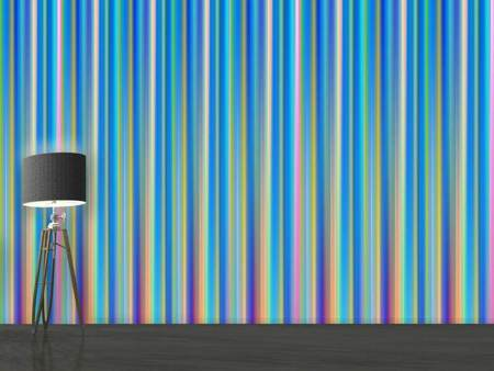 Photo Wallpaper Colored stripes
