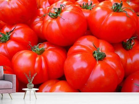 Photo Wallpaper Fresh tomatoes
