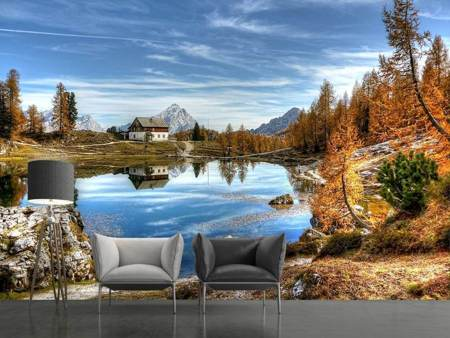 Photo Wallpaper Idyllic Dolomites