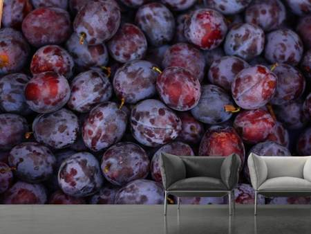 Photo Wallpaper Fresh plums