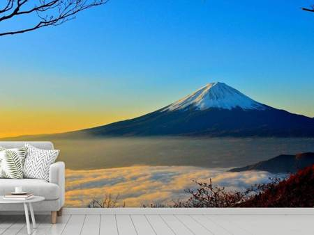 Photo Wallpaper Imposing Mount Fuji