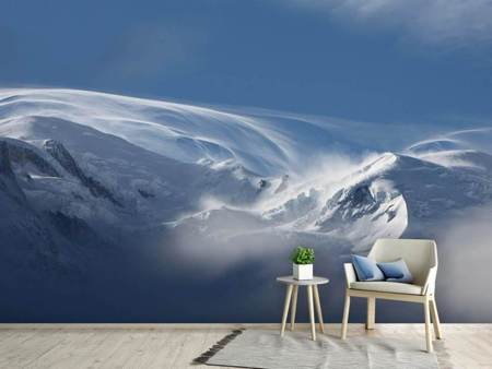 Photo Wallpaper Snow landscape