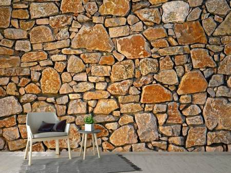 Photo Wallpaper Nature stone wall