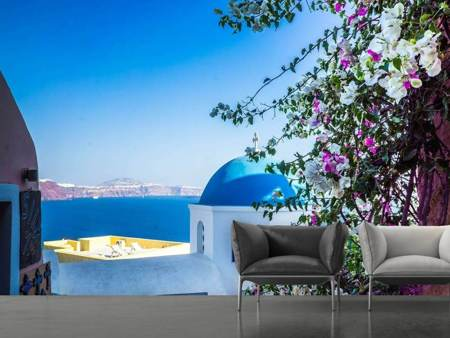 Photo Wallpaper Exclusive Santorini