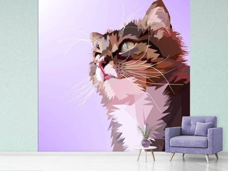 Papier peint photo Pop Art Cats Portrait