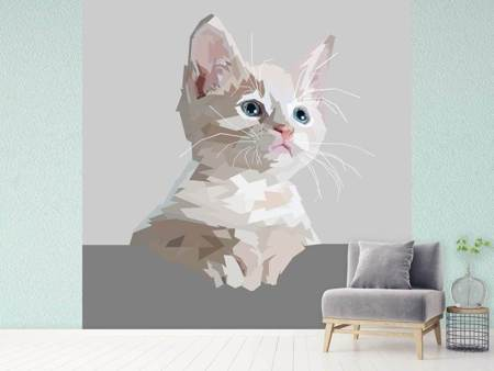 Photo Wallpaper Artwork cat