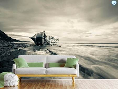 Photo Wallpaper Defeated By The Sea