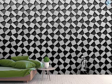 Photo Wallpaper Pattern