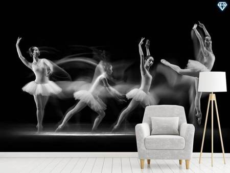 Papier peint photo Balerina Art Wave
