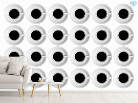 Photo Wallpaper Cups